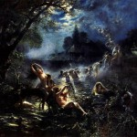 Константин Егорович Маковский, «Русалки», 1879