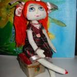 Мастер-класс пуфик для куклы