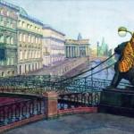 Санкт-Петербург. Банковский мостик