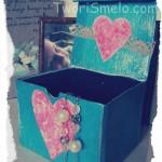 Подарочная коробка ко дню влюбленных своими руками
