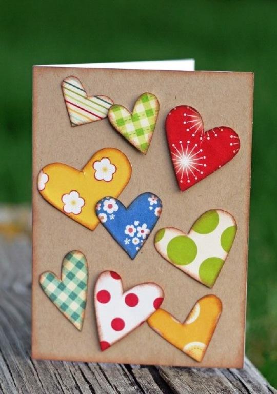 День святого валентина открытки своими руками фото
