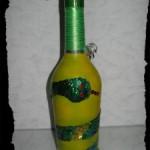 Декор бутылки к Новому Году.