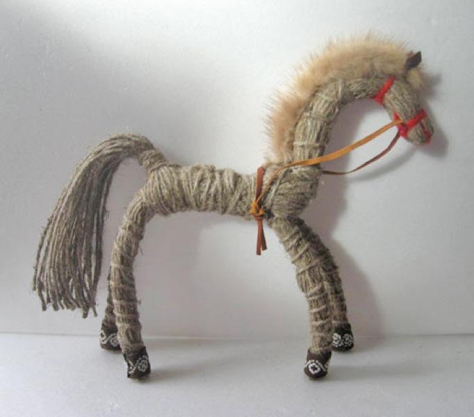 Детская поделка лошадка