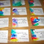 Необычные визитки своими руками