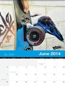 реалистичный рисунок карлы миланн для календаря