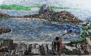 картина из отходов