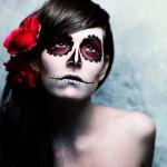 макияж на halloween
