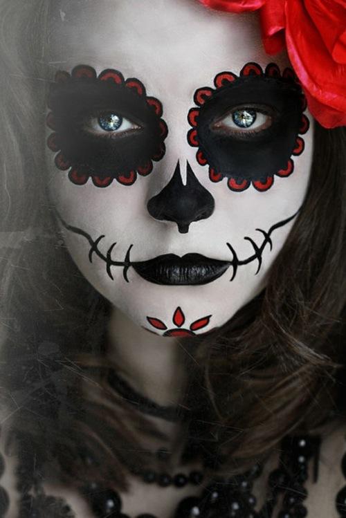 Хэллоуин макияж зомби