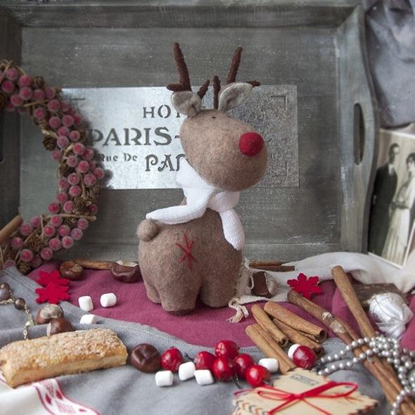 Рождественский олень своими руками