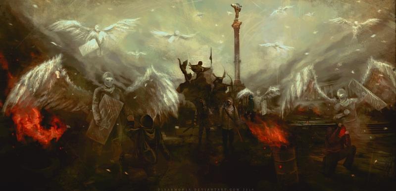 герои майдана