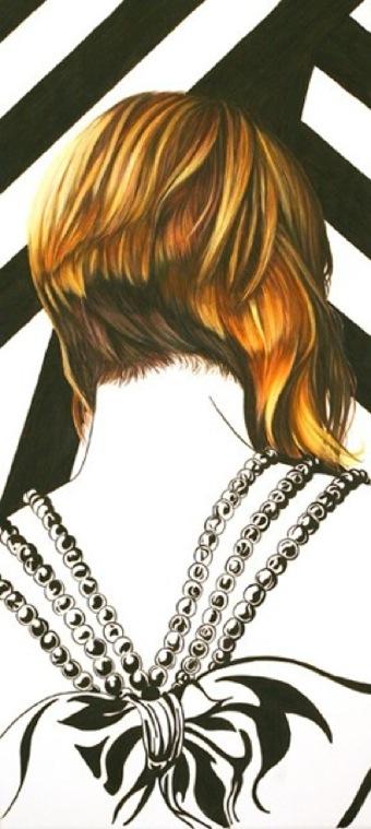 прическа -вдохновение художника