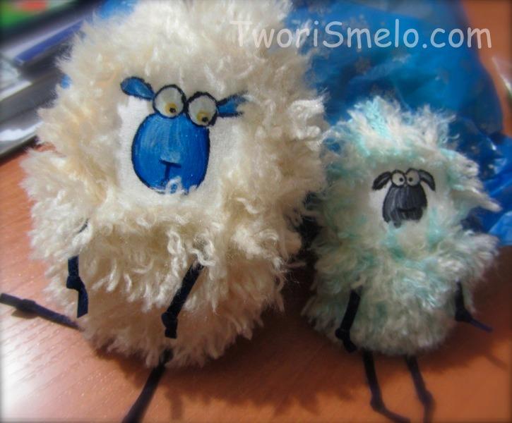 овечки большие и маленькие своими руками к нг