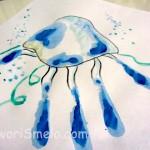 Рисунки из отпечатков рук