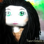 Простой способ сделать волосы кукле