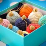 Идеи вязанных игрушек на елку