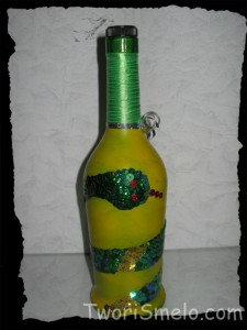 Дракон на бутылке своими руками фото 599