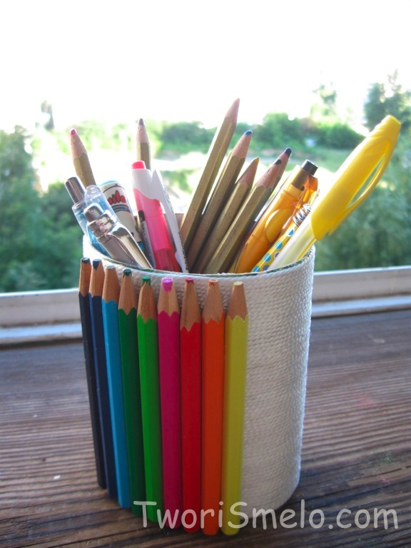 Картина из карандашей своими руками 179