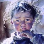 Китайский художник Liu Yunsheng и его акварель