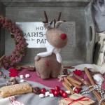 Игрушки – рождественские олени своими руками