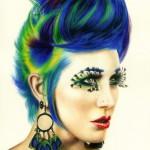 Прическа – вдохновение для художника