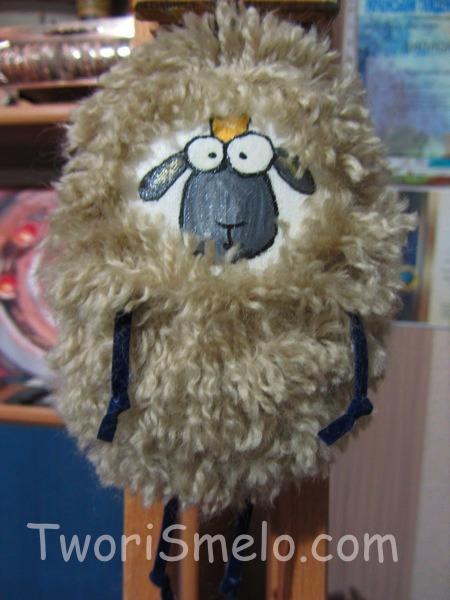 овцы игрушки на елку