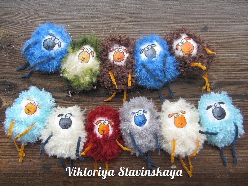 овцы своими руками