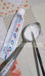 Украшение окон зубной пастой